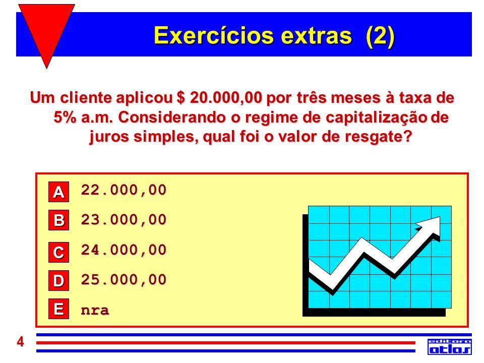 Exercícios extras (2)