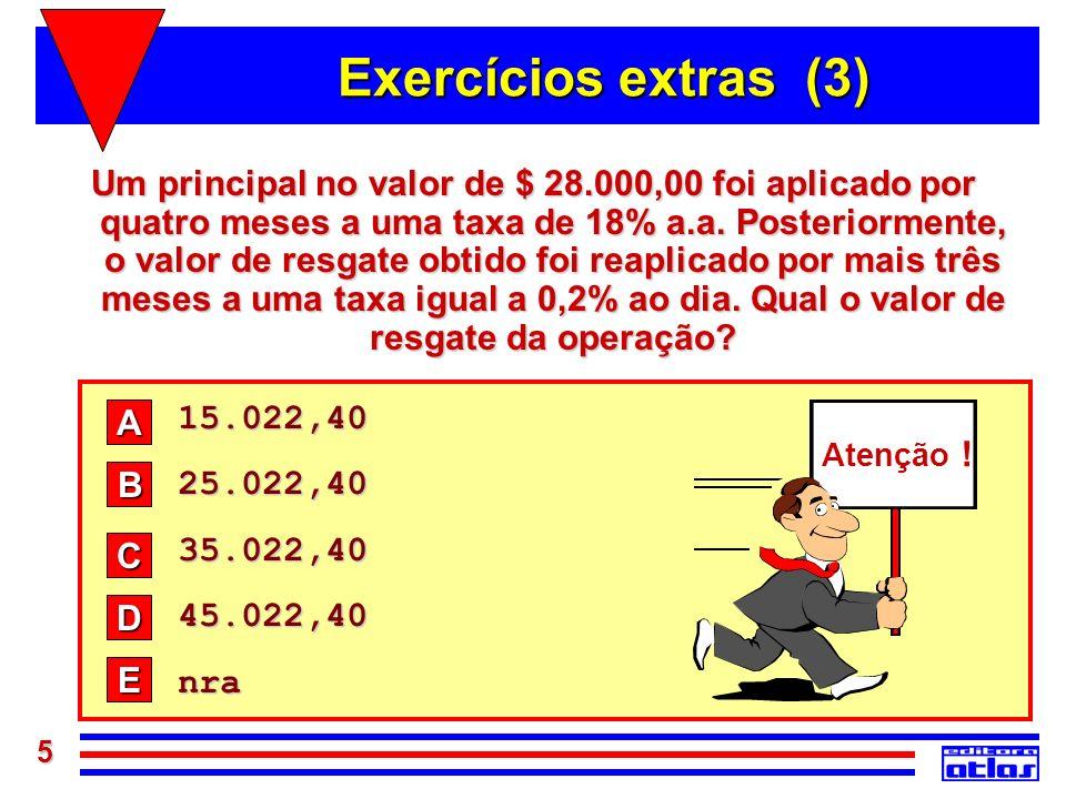Exercícios extras (3)
