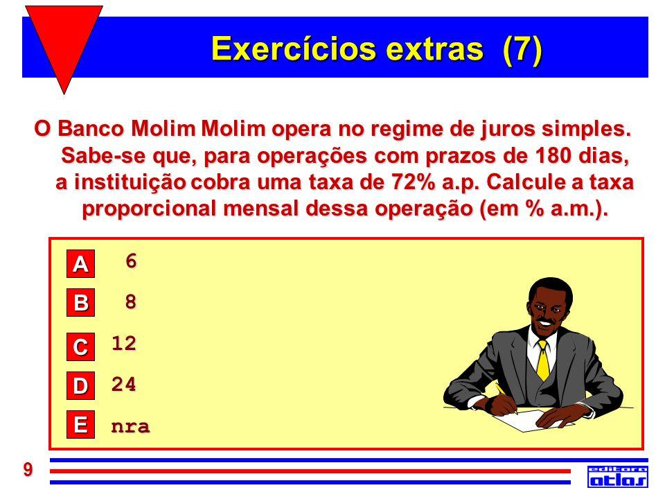 Exercícios extras (7)