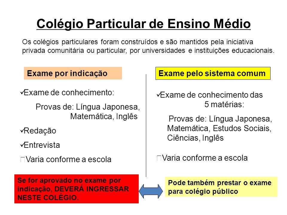 Colégio Particular de Ensino Médio