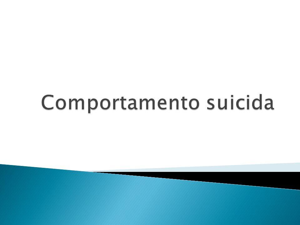 Comportamento suicida