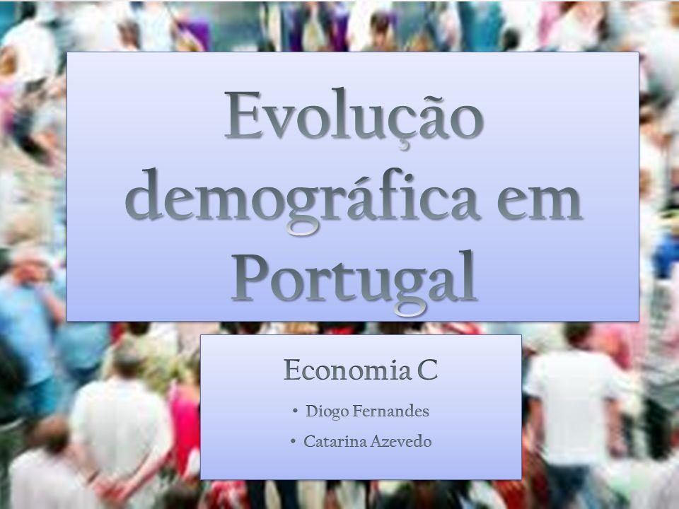 Evolução demográfica em Portugal