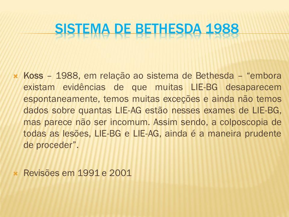 Sistema de Bethesda 1988