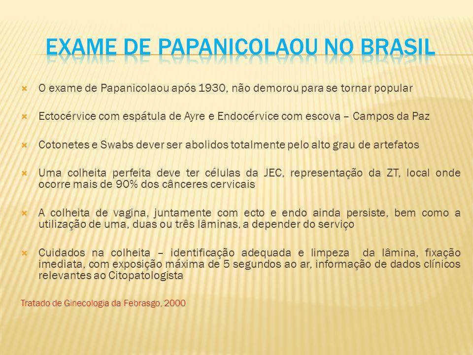 Exame de papanicolaou no brasil