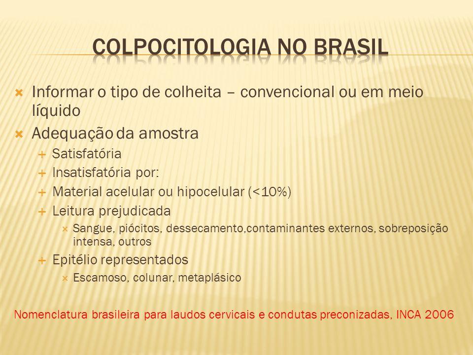 Colpocitologia no brasil