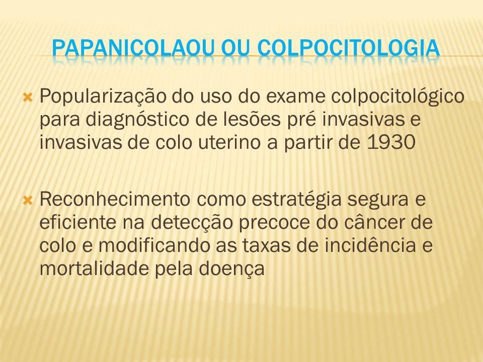 Papanicolaou ou colpocitologia