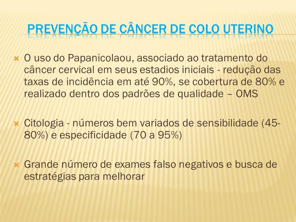 Prevenção de câncer de colo uterino