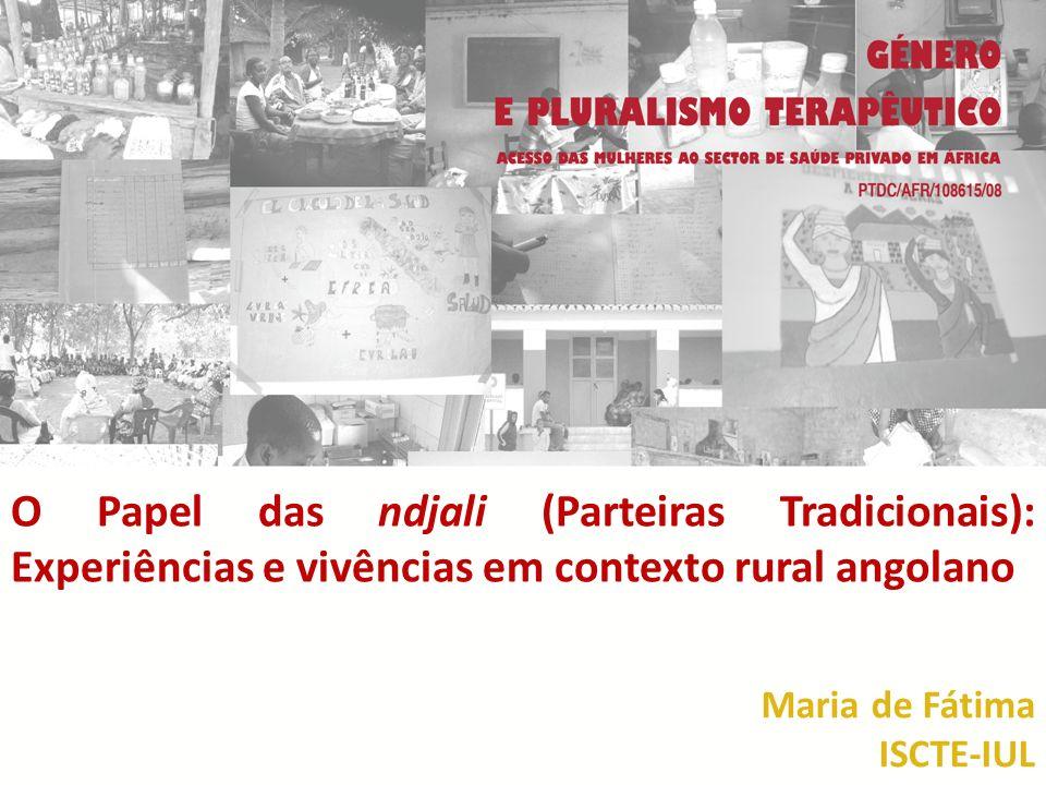 O Papel das ndjali (Parteiras Tradicionais): Experiências e vivências em contexto rural angolano
