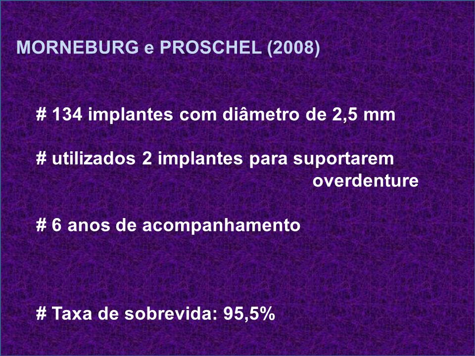 MORNEBURG e PROSCHEL (2008)