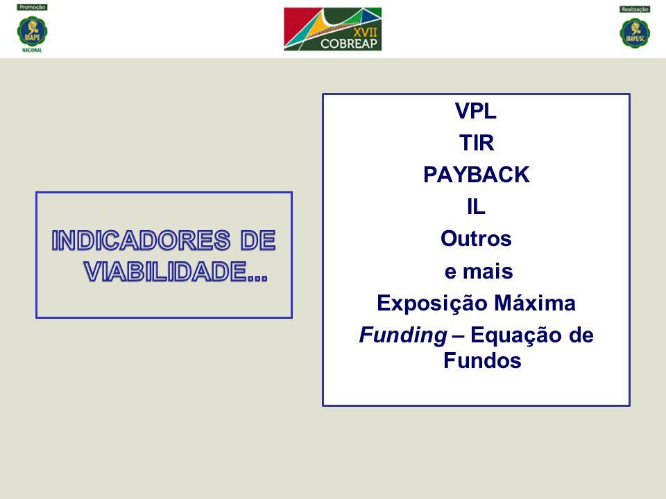 INDICADORES DE VIABILIDADE...