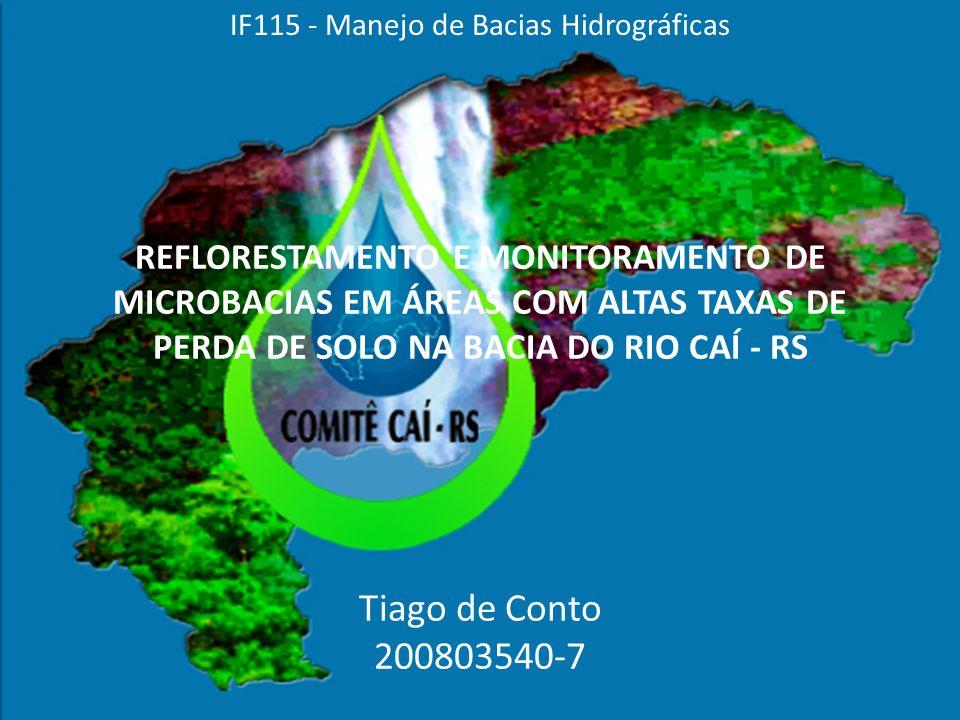 IF115 - Manejo de Bacias Hidrográficas
