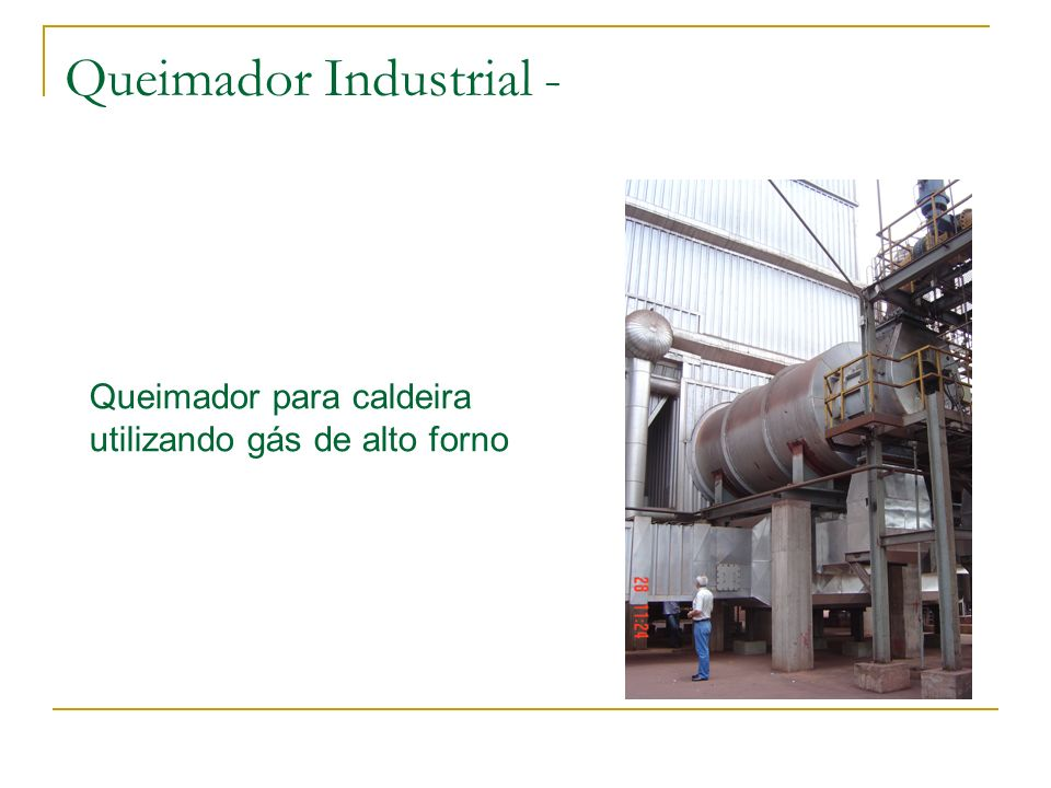 Queimador Industrial -