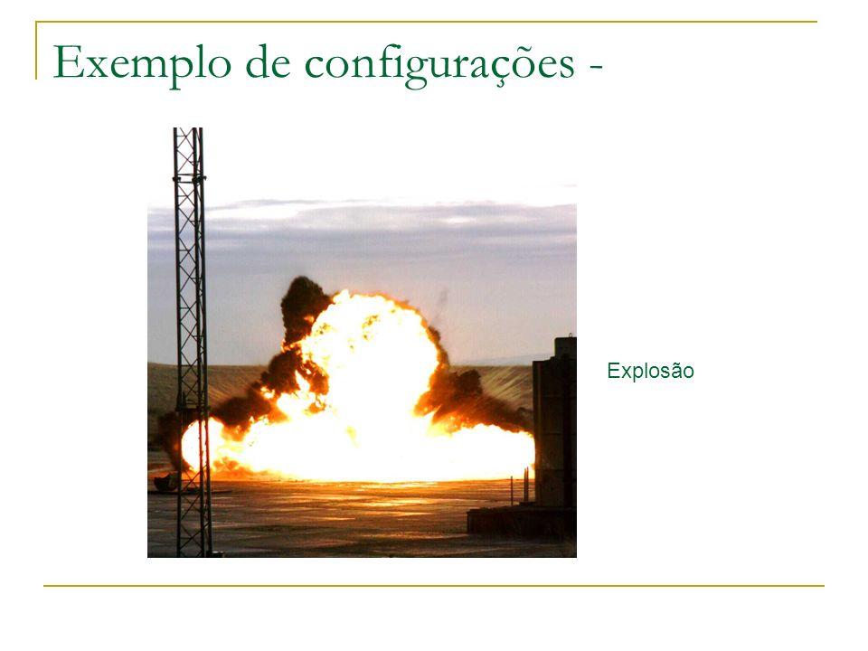 Exemplo de configurações -