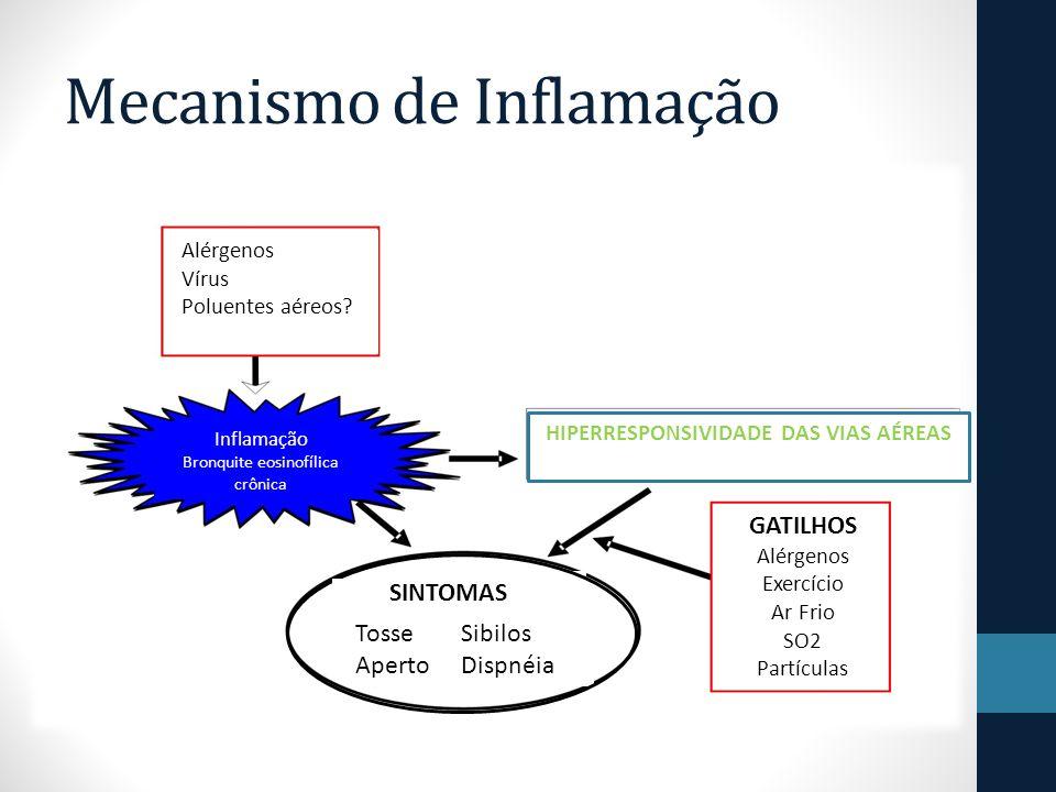 Mecanismo de Inflamação