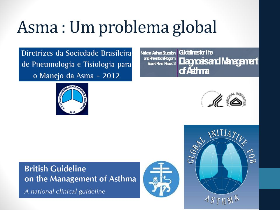 Asma : Um problema global