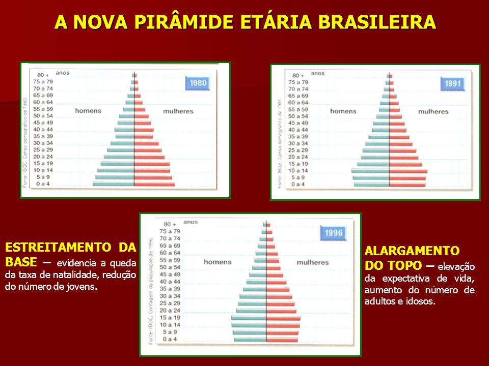 A NOVA PIRÂMIDE ETÁRIA BRASILEIRA