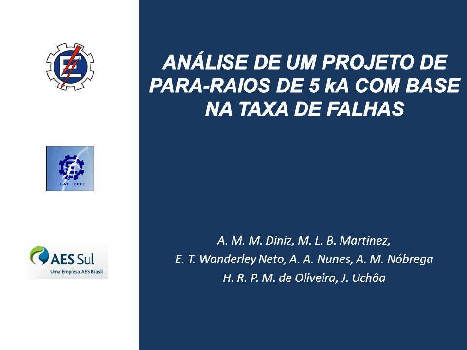 ANÁLISE DE UM PROJETO DE PARA-RAIOS DE 5 kA COM BASE NA TAXA DE FALHAS