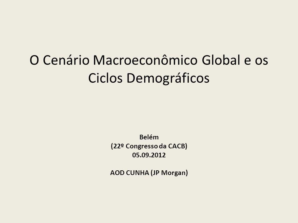 O Cenário Macroeconômico Global e os Ciclos Demográficos