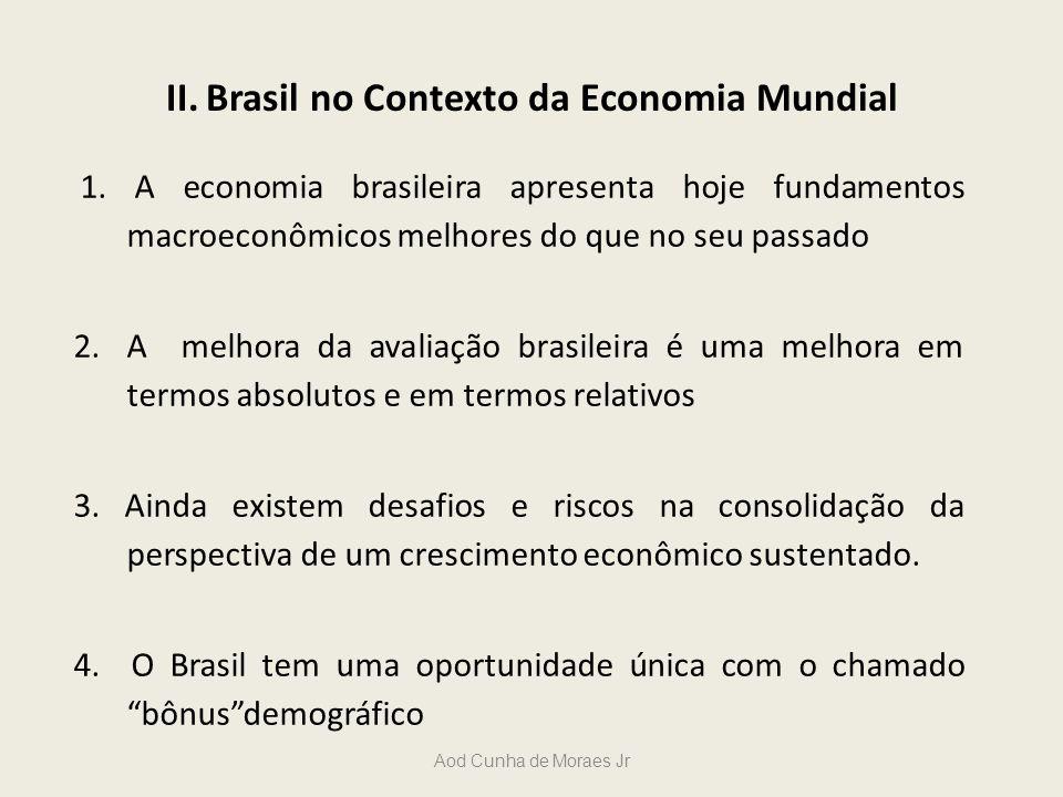 II. Brasil no Contexto da Economia Mundial