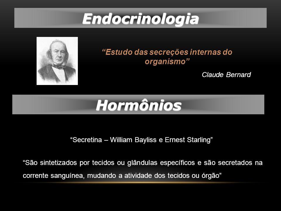 Estudo das secreções internas do organismo