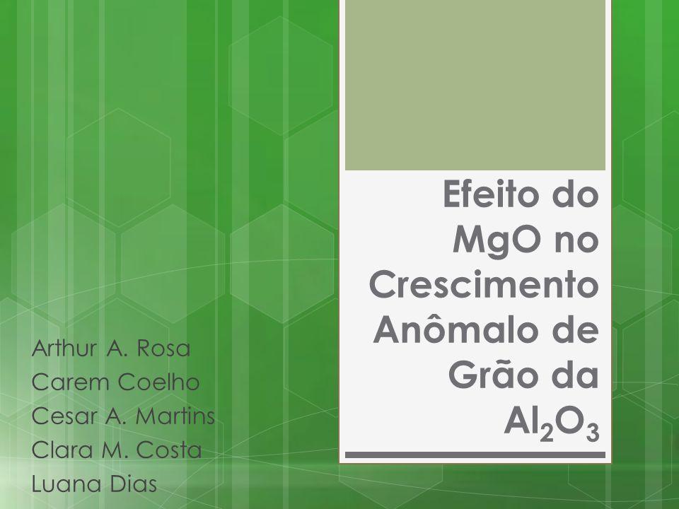 Efeito do MgO no Crescimento Anômalo de Grão da Al2O3