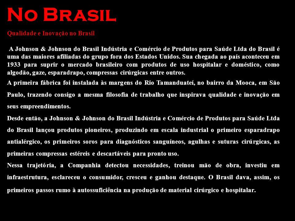 No Brasil Qualidade e Inovação no Brasil