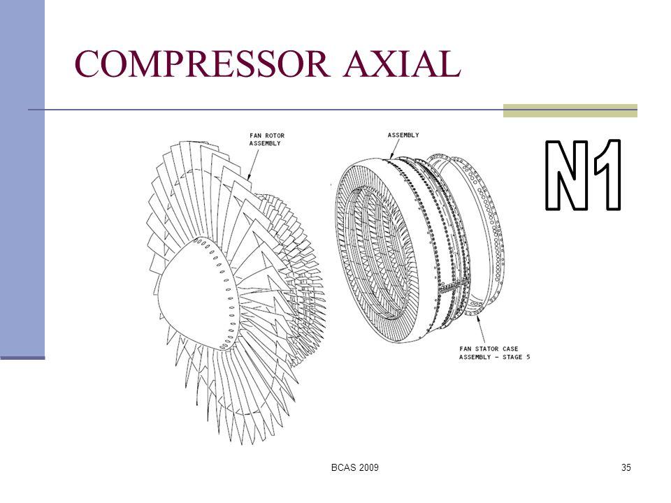 COMPRESSOR AXIAL N1 BCAS 2009
