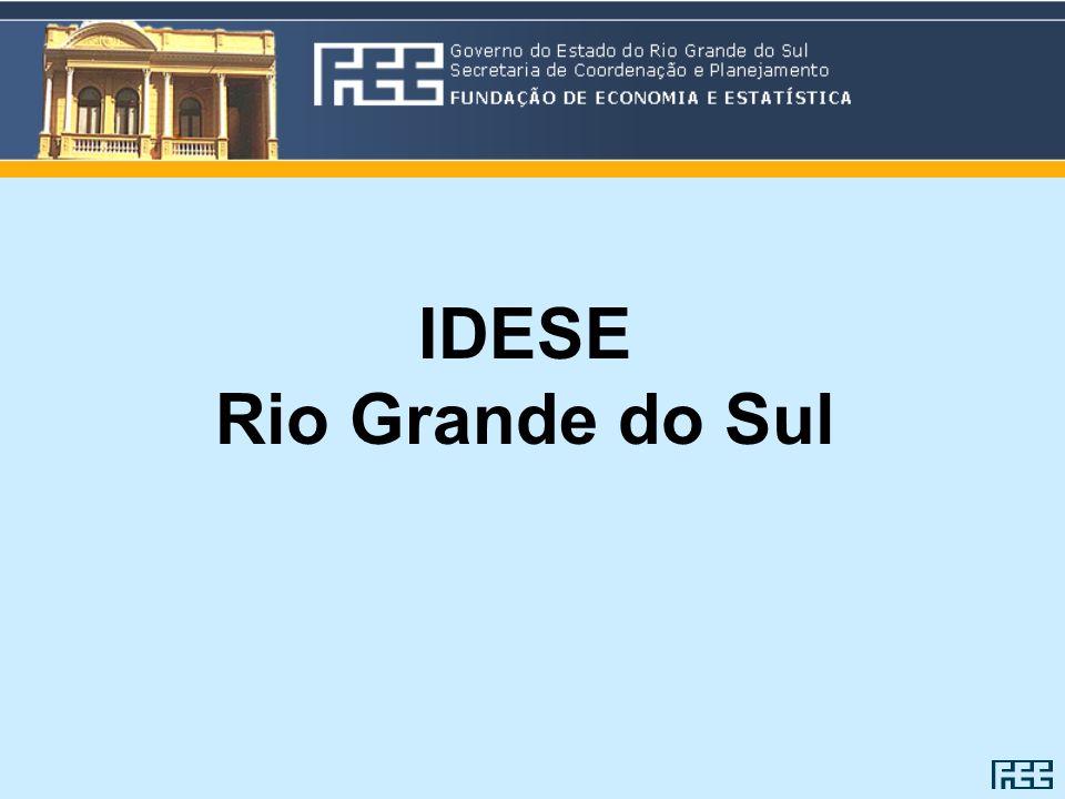 IDESE Rio Grande do Sul
