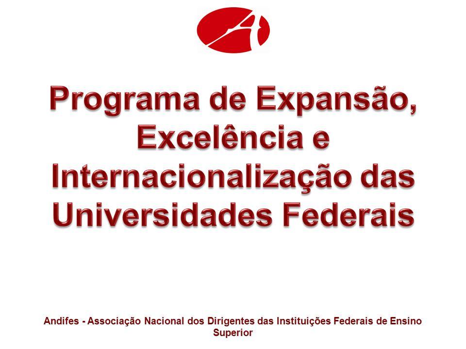 Programa de Expansão, Excelência e Internacionalização das Universidades Federais