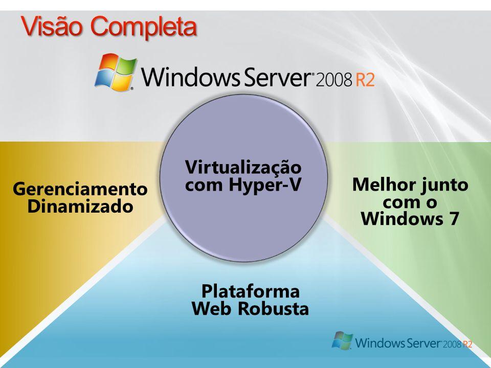 Visão Completa Virtualização com Hyper-V Melhor junto com o Windows 7