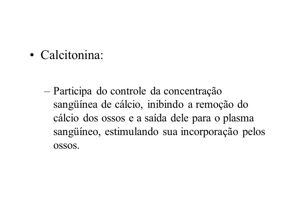 Calcitonina: