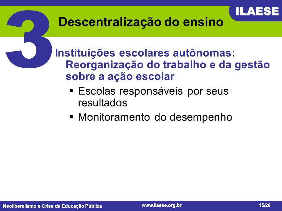 Descentralização do ensino