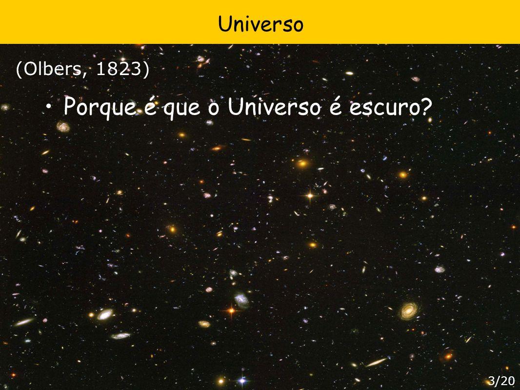 Porque é que o Universo é escuro