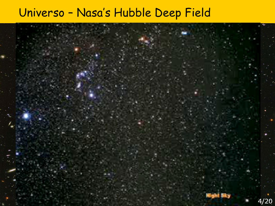 Universo – Nasa's Hubble Deep Field