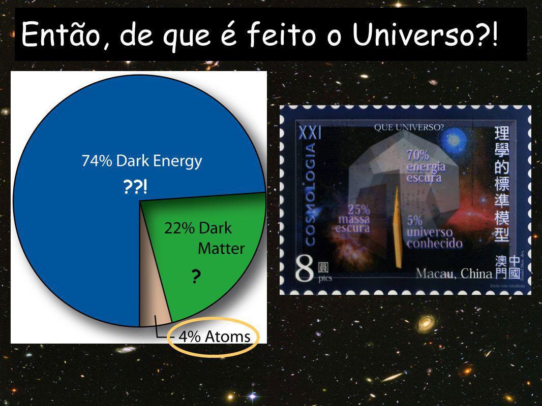 Então, de que é feito o Universo !