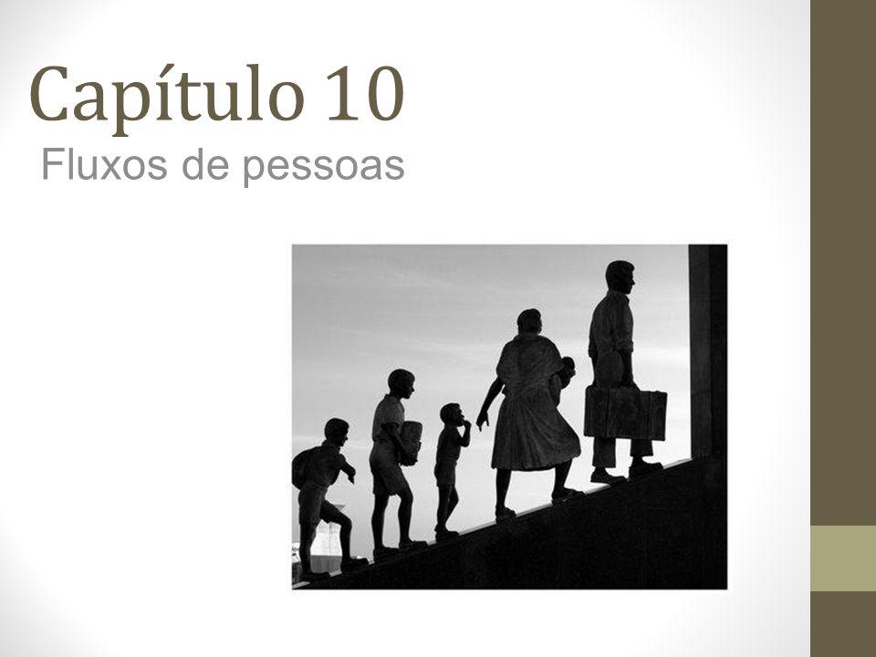 Capítulo 10 Fluxos de pessoas