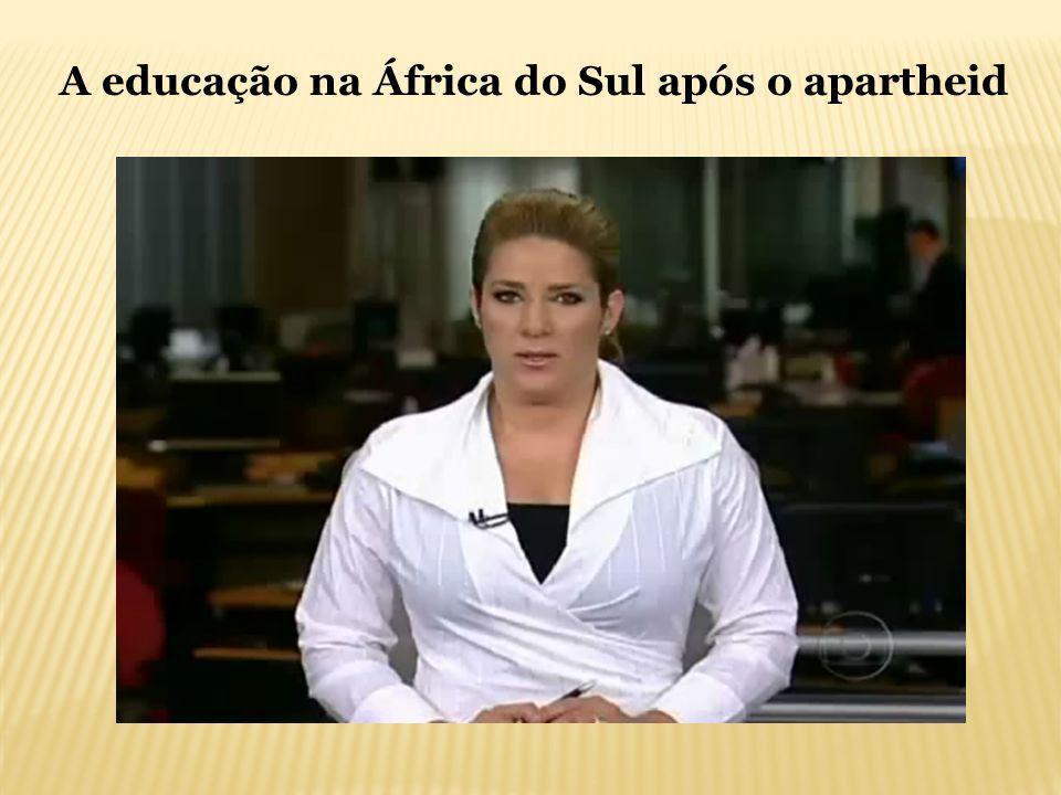 A educação na África do Sul após o apartheid