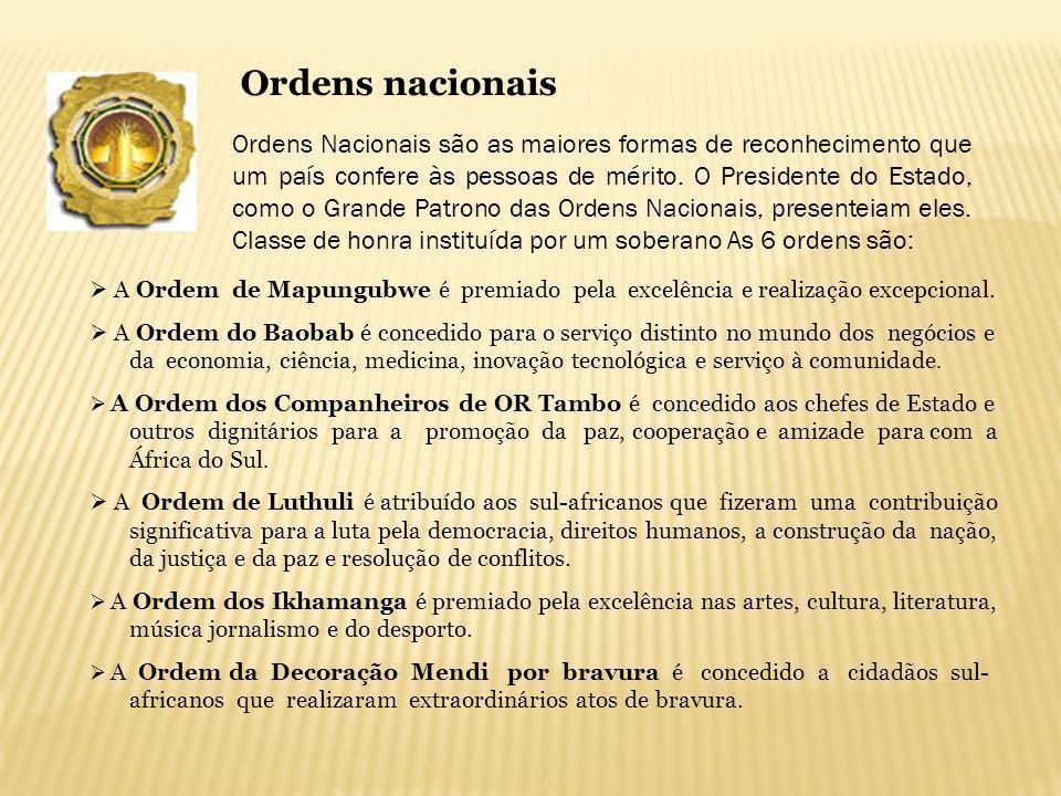 Ordens nacionais
