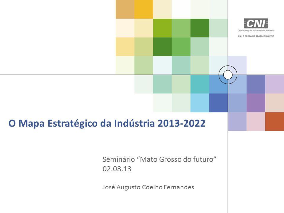 O Mapa Estratégico da Indústria 2013-2022