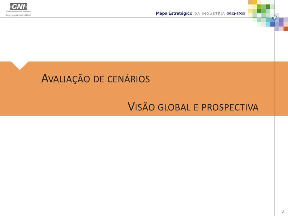 Avaliação de cenários Visão global e prospectiva
