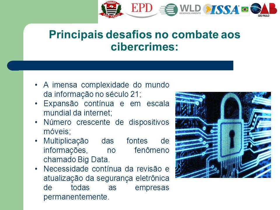 Principais desafios no combate aos cibercrimes:
