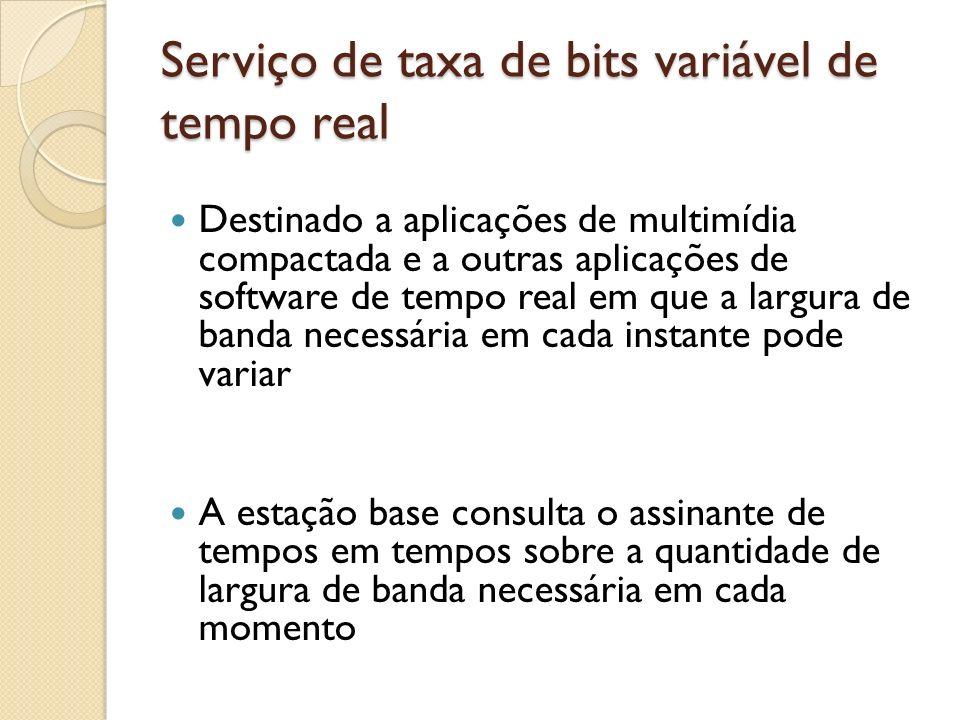 Serviço de taxa de bits variável de tempo real