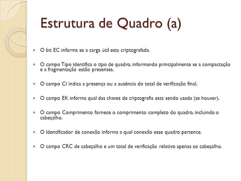 Estrutura de Quadro (a)