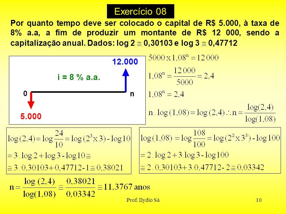 Exercício 08