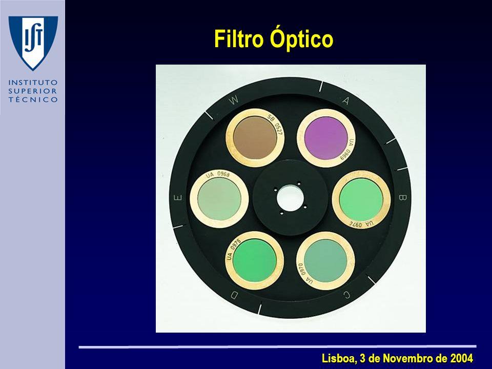 Filtro Óptico Lisboa, 3 de Novembro de 2004