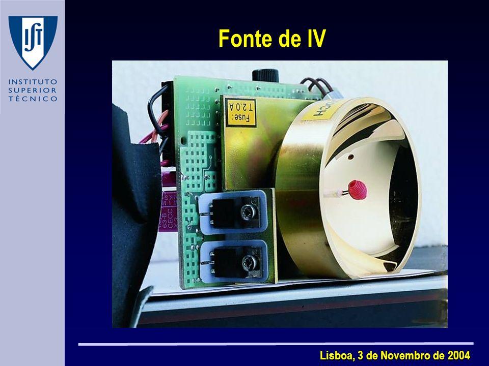 Fonte de IV Lisboa, 3 de Novembro de 2004
