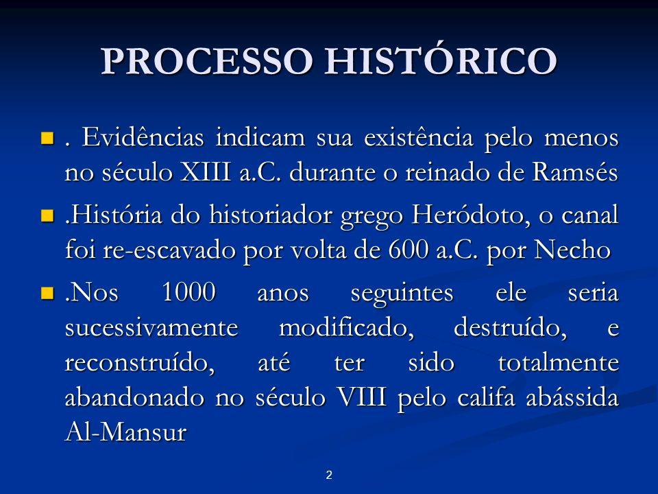 PROCESSO HISTÓRICO . Evidências indicam sua existência pelo menos no século XIII a.C. durante o reinado de Ramsés.