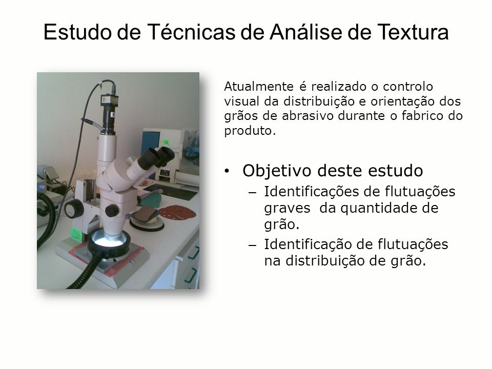 Estudo de Técnicas de Análise de Textura
