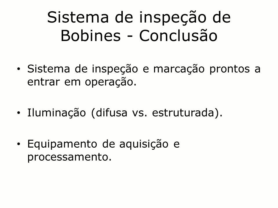 Sistema de inspeção de Bobines - Conclusão