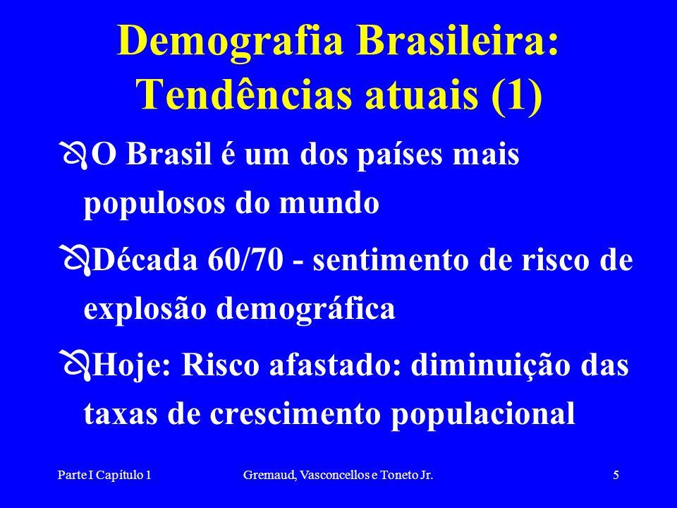 Demografia Brasileira: Tendências atuais (1)